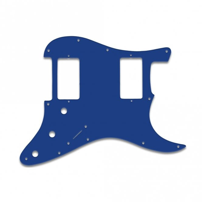 WD Music Strat 2 Hums - Blue White Blue