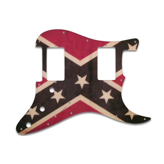 WD Music Strat 2 Hums - Dixie Flag Relic