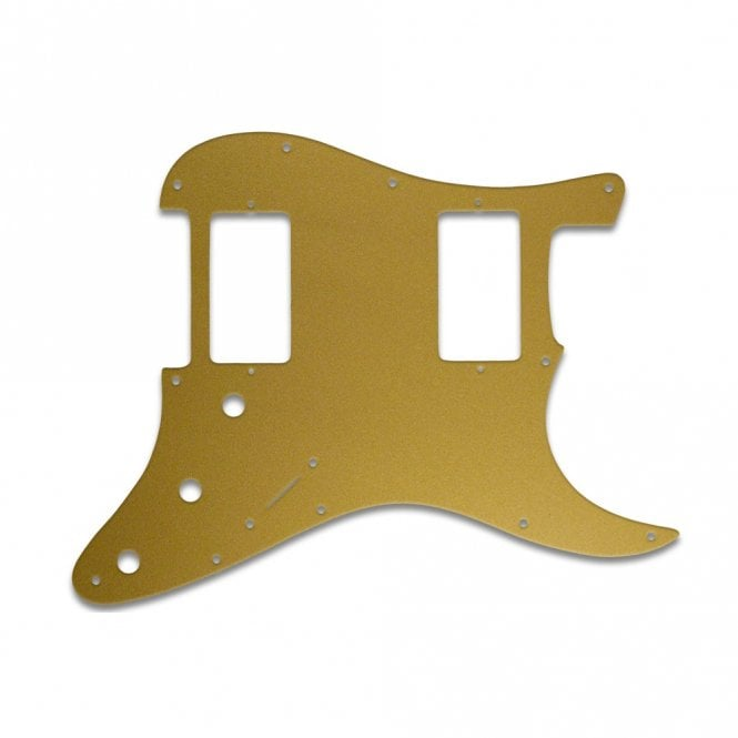 WD Music Strat 2 Hums - Gold/Clear/Gold