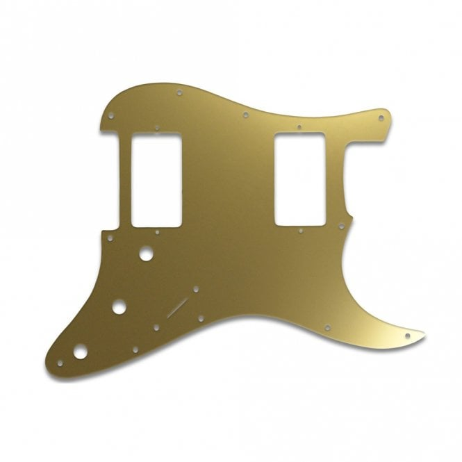 WD Music Strat 2 Hums - Gold Mirror
