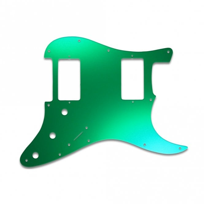 WD Music Strat 2 Hums - Green Mirror