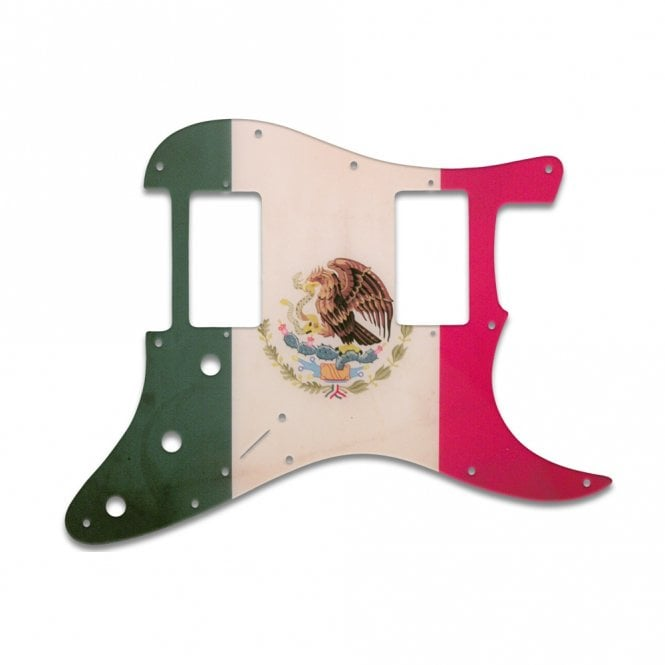 WD Music Strat 2 Hums - Mexican Flag Relic
