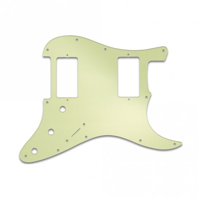 WD Music Strat 2 Hums - Mint Green 3 Ply