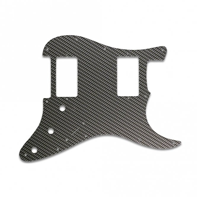 WD Music Strat 2 Hums - Simulated Carbon Fiber