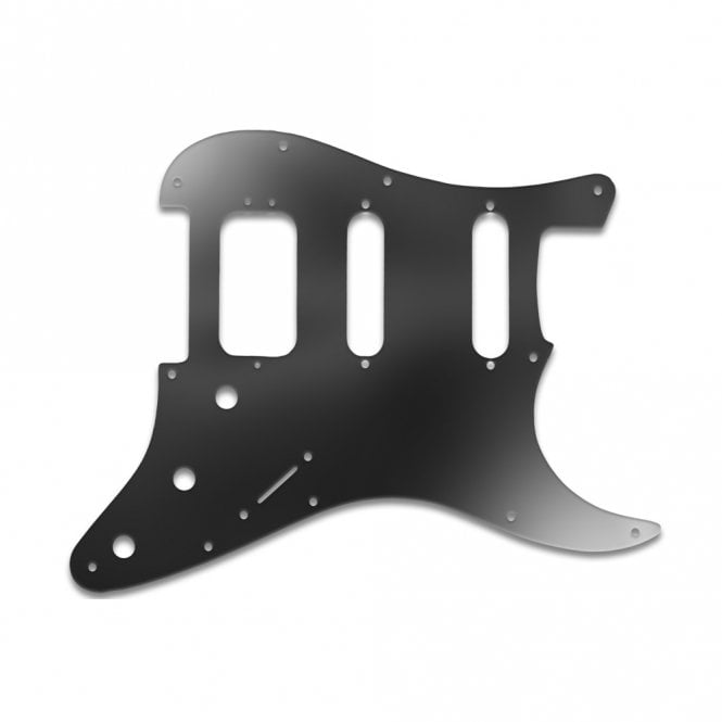 WD Music Strat American Deluxe - Black Acrylic