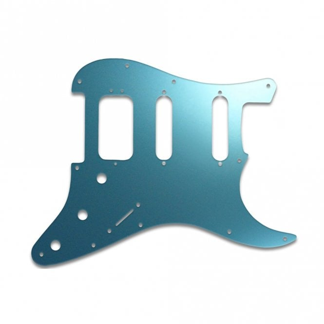 WD Music Strat American Deluxe - Blue Mirror