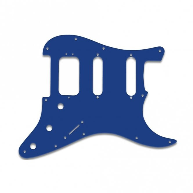 WD Music Strat American Deluxe - Blue White Blue