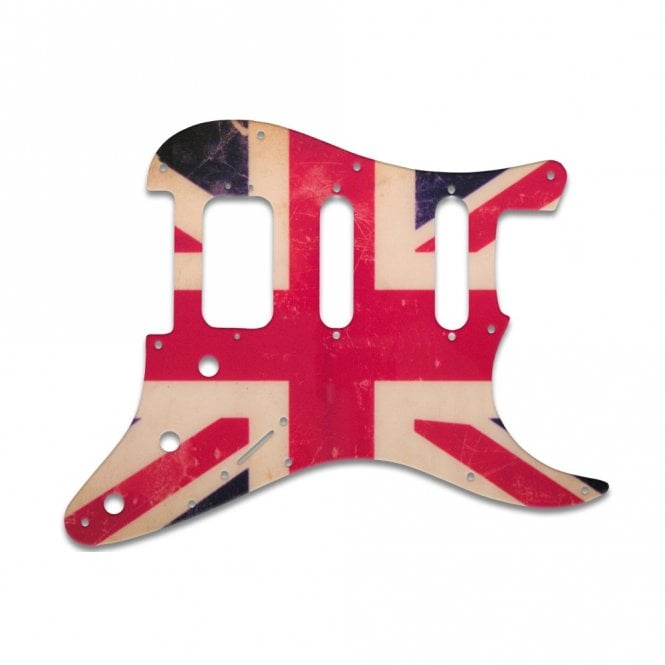 WD Music Strat American Deluxe - British Flag Relic