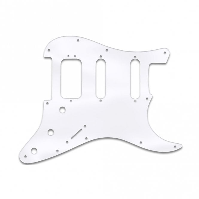 WD Music Strat American Deluxe - Clear Acrylic (.125)