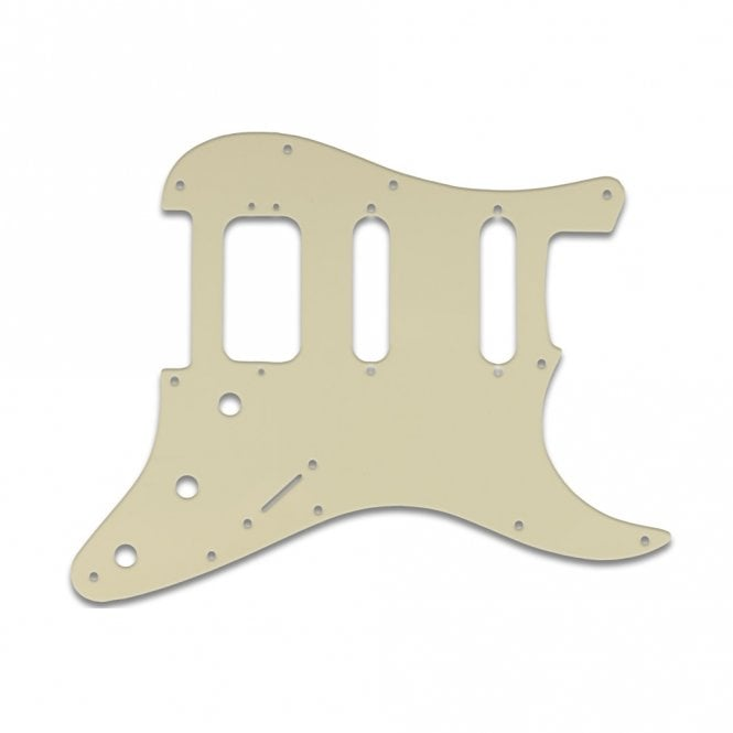 WD Music Strat American Deluxe - Parchment Solid
