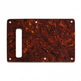 Strat Backplate - Single Ply .070 Tortoise Shell