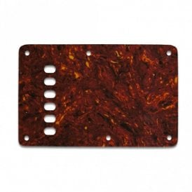 Strat Backplate Vintage - Single Ply .070 Tortoise Shell