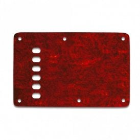 Strat Backplate Vintage - Tortoise Shell Red