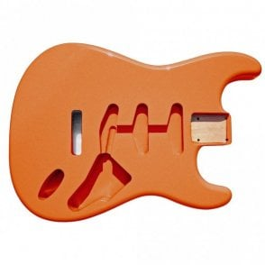 Strat Body Fiesta Red