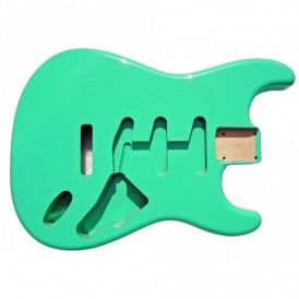 Strat Body Tropical Green