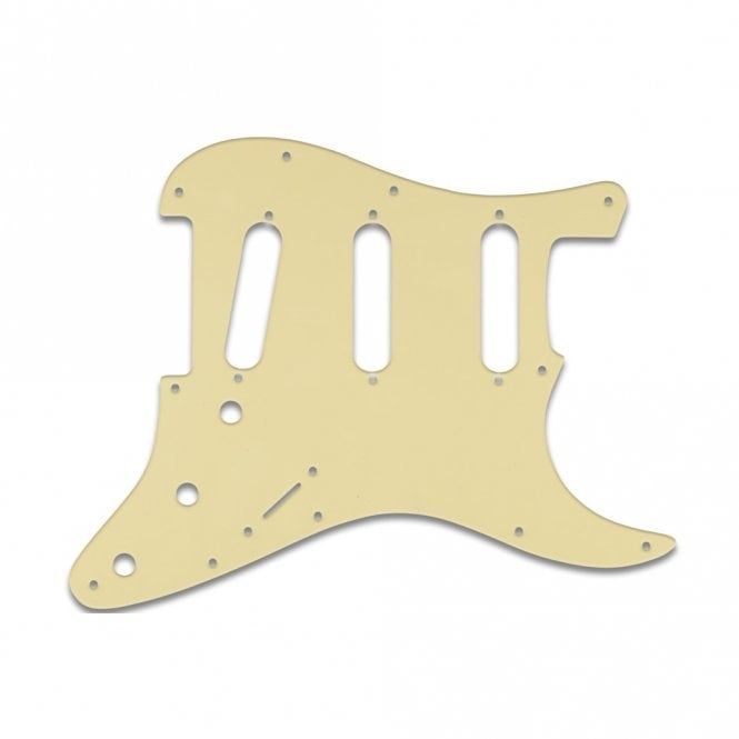 WD Music Strat - Cream Black Cream