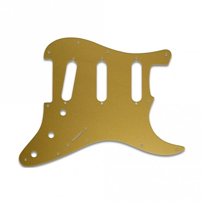 WD Music Strat - Gold / Clear / Gold