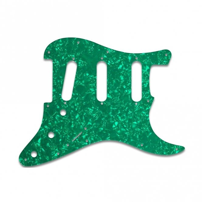 WD Music Strat - Green Pearl