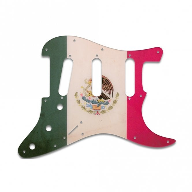 WD Music Strat - Mexican Flag Relic