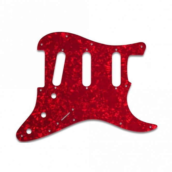WD Music Strat - Red Pearl