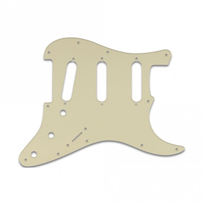 WD Music Strat - Solid Parchment