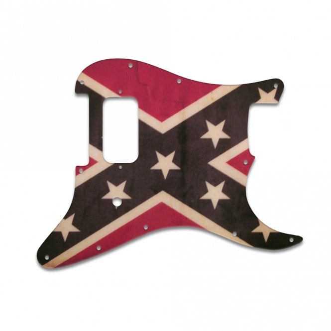 WD Music Strat Tom Delonge - Dixie Flag Relic