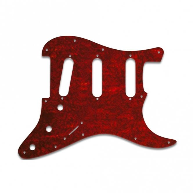 WD Music Strat - Tortoise Shell Red