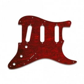 Strat - Tortoise Shell Red