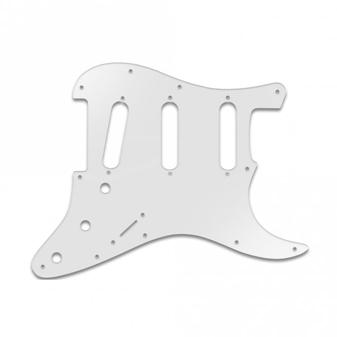 WD Music Strat - Transparent Milk White