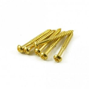 Strat Tremolo Screw Gold (Bag of 6)