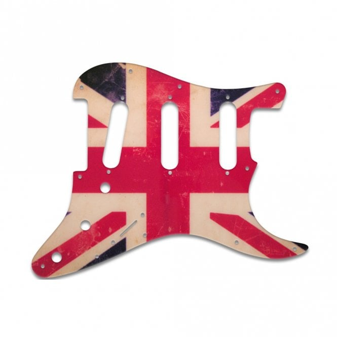 WD Music Strat - Union Jack Flag Relic