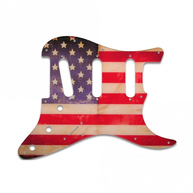 WD Music Strat Voodoo - American Flag Relic