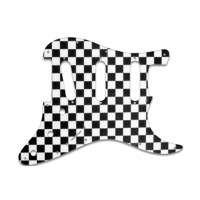 WD Music Strat Voodoo - Checkerboard