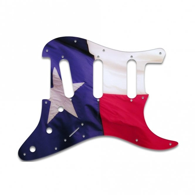 WD Music Strat Voodoo - Texas Flag