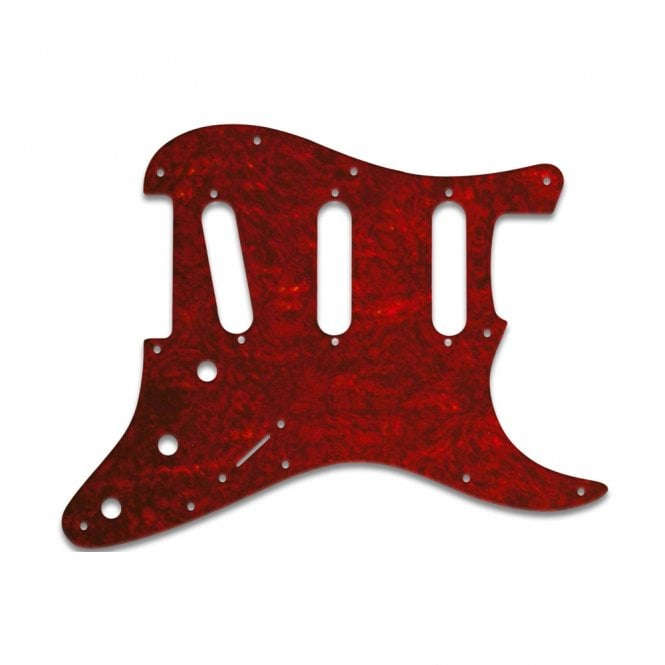 WD Music Strat Voodoo - Tortoise Shell Red