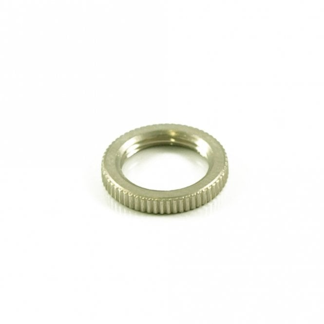 Switchcraft Knurled Toggle Nut Nickel