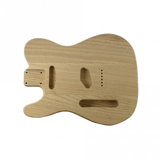 WD Music Tele body lightweight alder unfinished-left handed