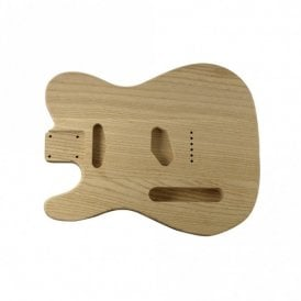Tele body lightweight alder unfinished-left handed