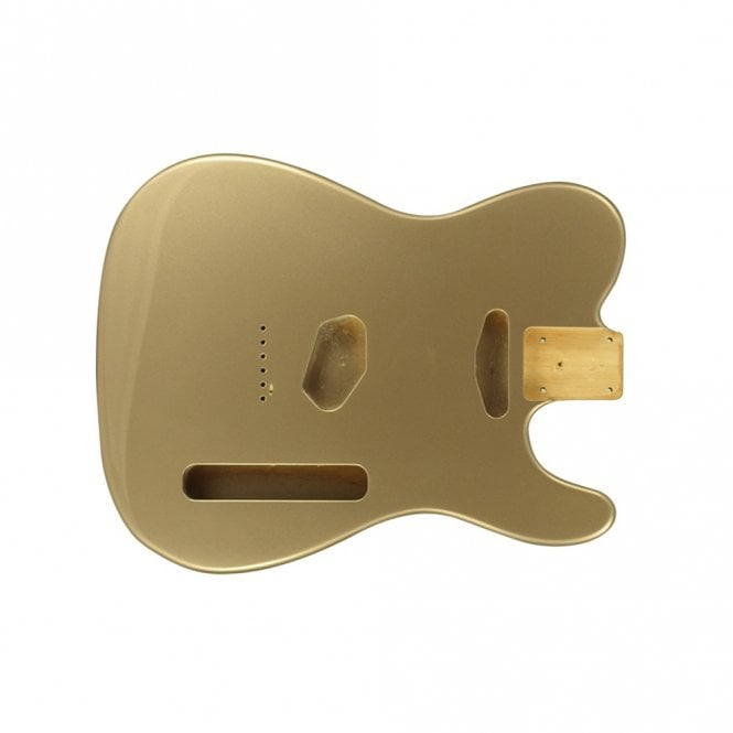 WD Music tele body shoreline gold