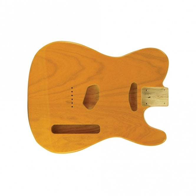 WD Music Tele body swamp ash butter scotch blonde