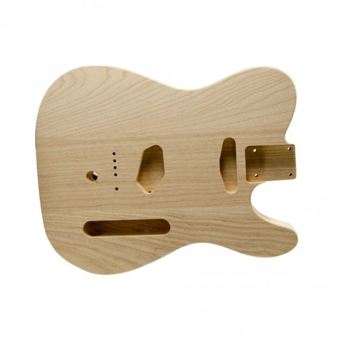 WD Music Tele body unfinished ash cut for B bender