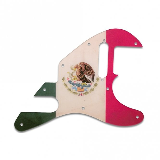 WD Music Tele-Bration Series Telecaster - Mexican Flag Relic