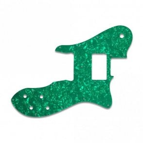 Tele Custom - Green Pearl W/B/W Lamination