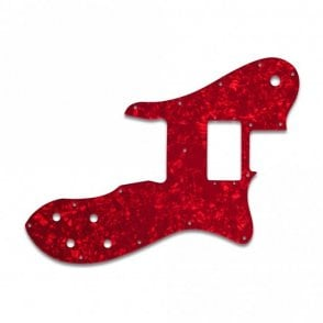 Tele Custom - Red Pearl W/B/W Lamination