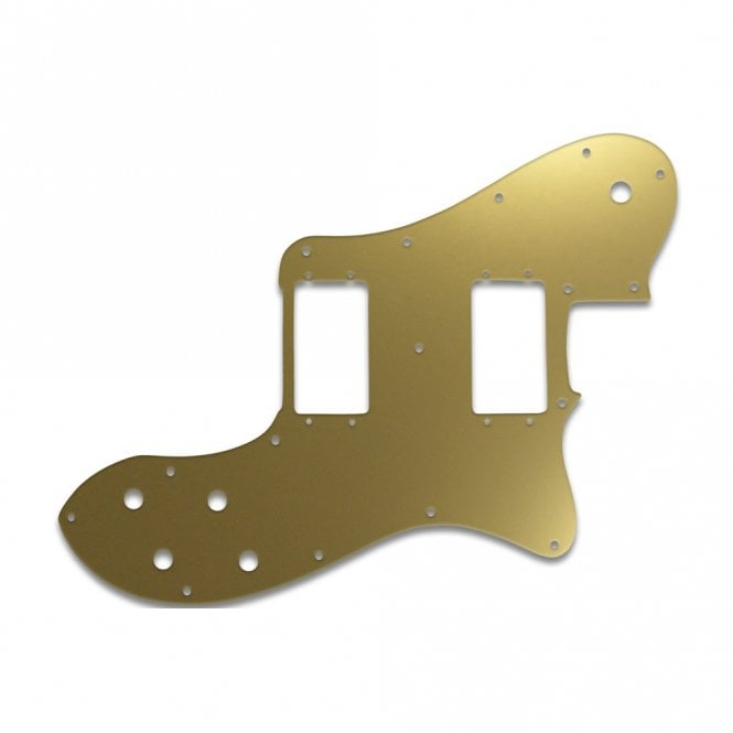 WD Music Tele Deluxe - Gold Mirror