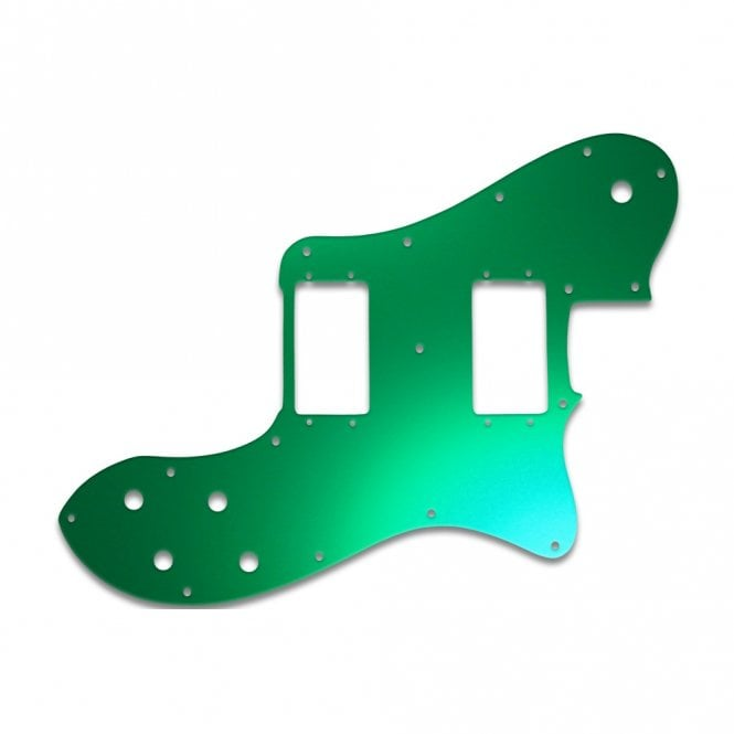 WD Music Tele Deluxe - Green Mirror