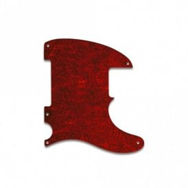 Tele - Esquire 5 Hole - Tortoise Shell Style Red (Pvc)