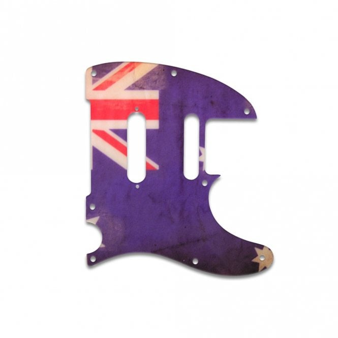 WD Music Telecaster Modern Player Plus - Aussie Flag Relic