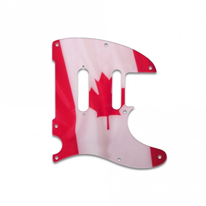WD Music Telecaster Modern Player Plus - Canadian Flag