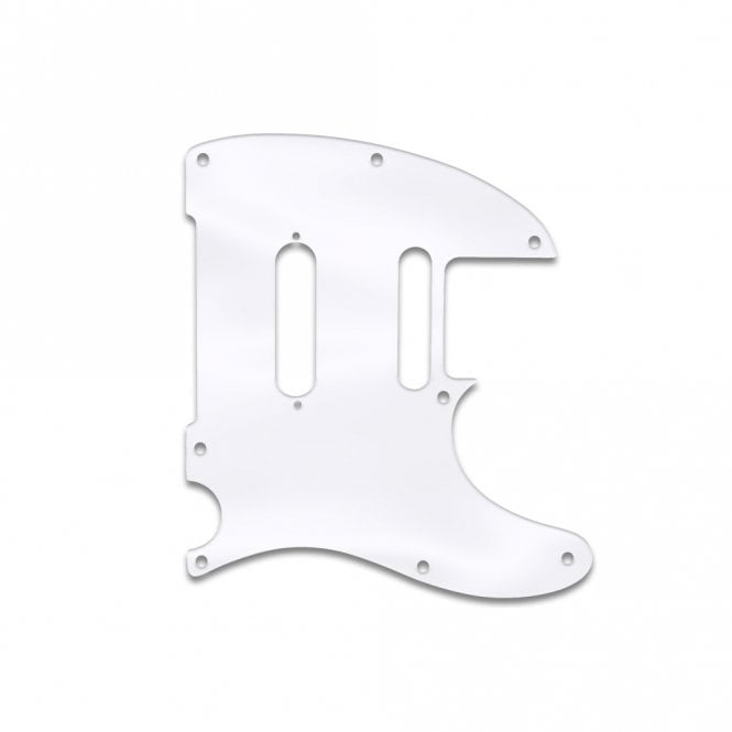 WD Music Telecaster Modern Player Plus - Clear Acrylic (.125)